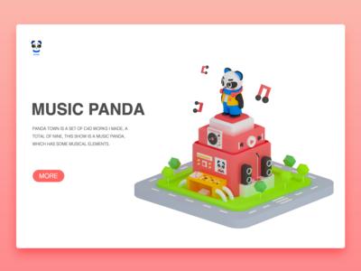 Music panda