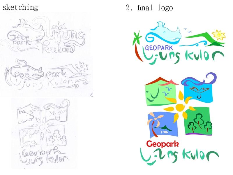 Step Logo illustration corel branding logoground logogrid logogram sketches sketch color hippo logos logotype logodesign simple logo design fun sketching colorful logo icon