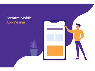 Creative Mobile App Design