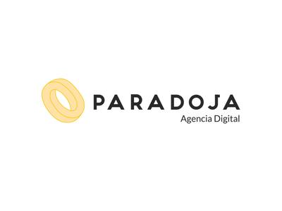Paradoja Logo - Dropbox Style flat dropbox méxico agency digital paradoja