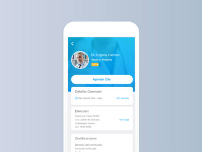 Medical App Profile ios medic health app