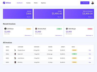 Dashboard Concept platform dashboard design table card ui dashboard