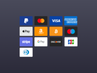 Payment Card Icons Free