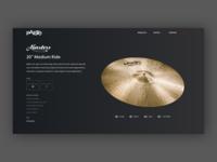 Paiste Cymbal Detail Concept