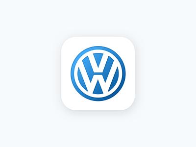 Daily UI Challenge #005 App Icon daily ui app icon app icon ios vw volkswagen