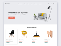 Furniture eCommerce Concept furniture ecommerce shop ecommerce landing