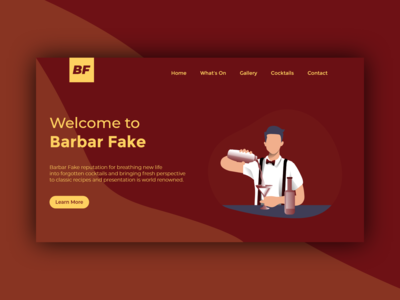 Barbar Fake - Header Page