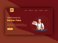 Barbar Fake - Header Page