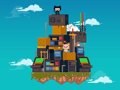 Nerdfest 2015 arcade final fantasy github starwars pixel pixel art event console nerdfest nerd games