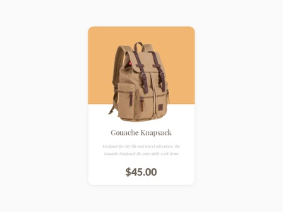 Daily UI #1 ecommerce buy bag shopping ui daily daily ui