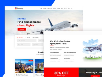 Flight Booking design