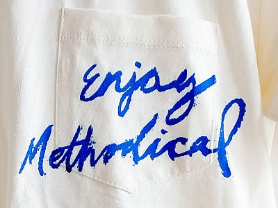 Enjoy Methodical branding script t-shirt mockup t-shirt design t-shirts t-shirt shirt