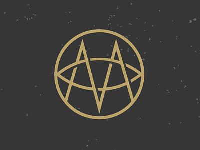 Thing logo mark m gold awesome