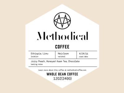 Bag label bag coffee sticker label