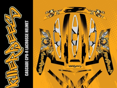 Cascade CPX-R Lacrosse KillerBees Wrap