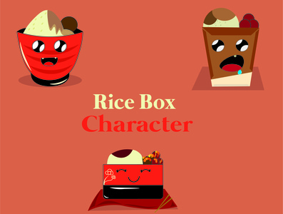 Rice Box Character