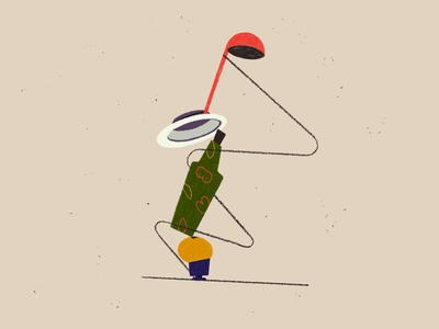 Balancing objects design digital art web illustration digital painting balance geometric objects shapes inspiration contemporary art modern art abstract art design art graphic style graphic illustration flatdesign flat illustration digital2d illustration