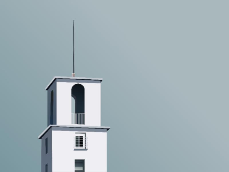 Building Illustration home illustration