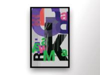 Sagar Vishwakarma Abstract typography