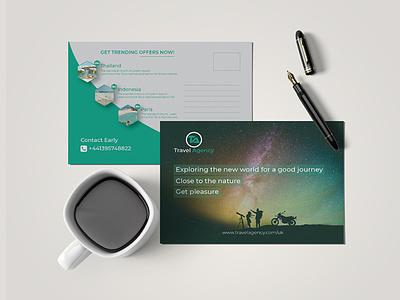 Postcard Design   Traveling Postcard   Business Postcard   EDDM leaflets