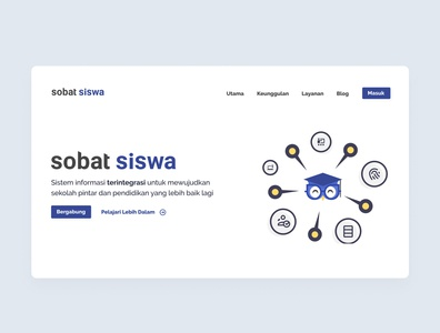 Sobat Siswa Landing Page