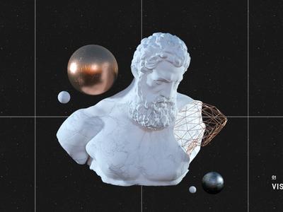 Hercules Bust Animation