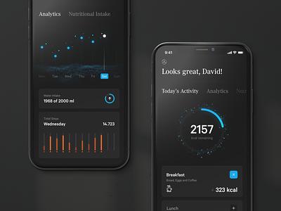 Mercedes Ecosystem — Health travel health data statistics mobile ui automotive luxury interface layout minimal ux ui website design