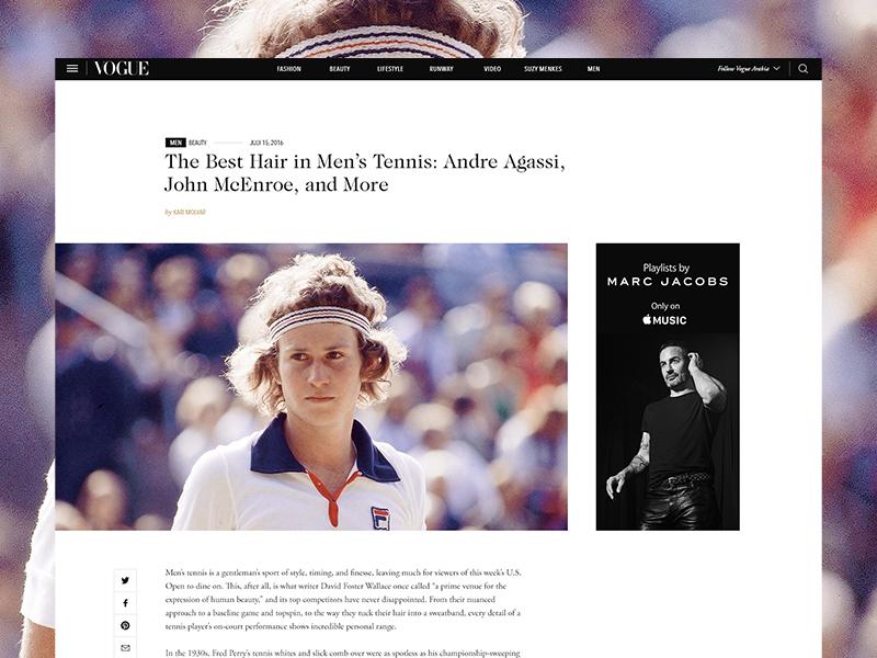 Vogue - Men's section fashion photography vogue website luxury minimal vogue arabia