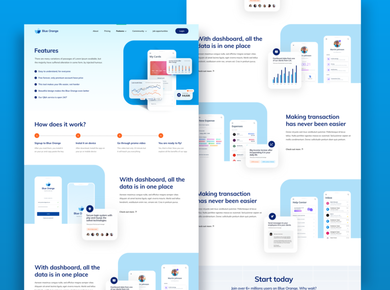 Features page concept ux website webdesign ui mockup design mobile app design mobile design mobile ui analytics dashboard analytics chart analytics banking website bank app banking features page features