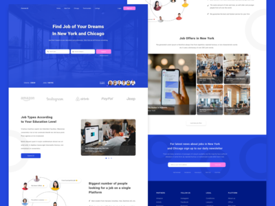 Find Job Website Design