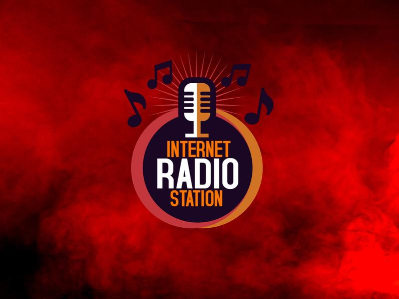 Internet Radio Station Logo by Ahmed Musab on Dribbble