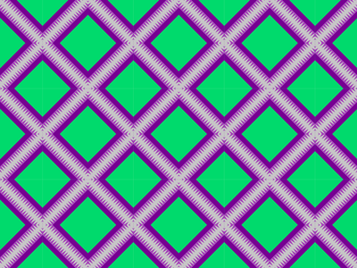 Geometrical Batik Pattern Art