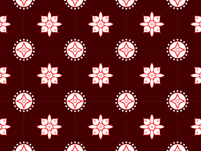 Batik Pattern Art With Geometrical Decoratiive Pattern culture shape flower geometry floral indonesia decorative creative clothing beauty batik asian pattern illustration design beautiful background backdrop art abstract