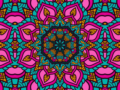Beautiful Abstract Background Art With Colorful Floral Ornament decor mandala henna clothing batik background flower backdrop floral decoration vector creative design decorative beauty art pattern abstract illustration beautiful