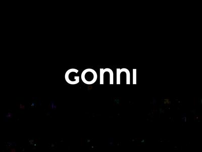 GONNI User Experience Agency Logo Animation user experience logo branding agency brandidentity glitch motiongraphics logo animation branding logodesign