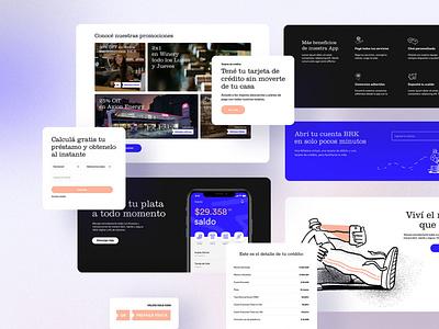Online bank Branding and Website User Experience Redesign webdesign bank illustration design appdevelopment creativeagency brandidentity designthinking user experience gonniagency gonni