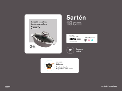 Essen digitalproducts user experience designthinking branding design uxui design creativeagency brandidentity gonniagency gonni