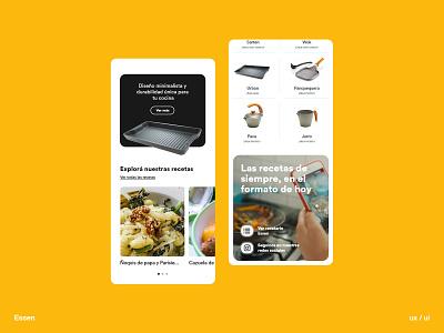 Essen digitalproducts userinterface creativeagency appdevelopment uxui user experience designthinking brandidentity gonniagency gonni