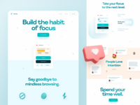 Intention - Landing Page