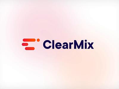 ClearMix - Logo logo motion logotype logo mark design branddesign branding brand