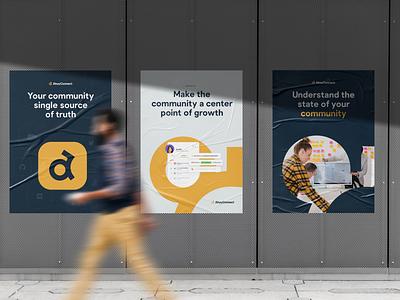 AhoyConnect - Branding Assets graphic design guidelines print poster logo branding brand