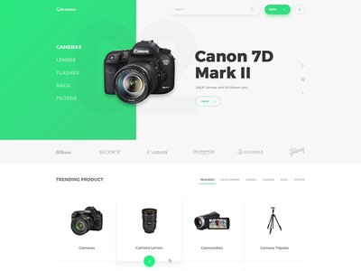 Category Products Page page product shopping webdesig web ux ui uidesign design clean