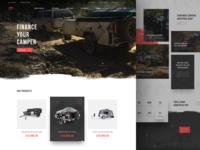 Homepage - Camper Trailers (WIP)