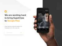 Registration google play white