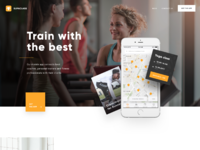 Supaclass landing page full