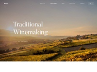 Ktw winery   landing page