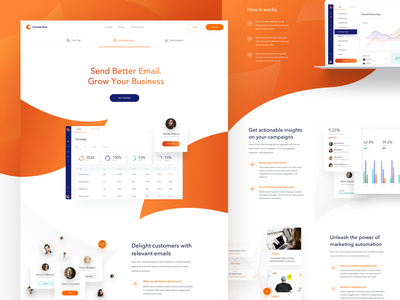 ConvertFox - Features Page clean design features user experience ux web website chat app support