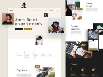 Takumi - Creator Page