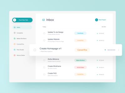 Task Tracker tracker uidesign ui task mobileapp ios interface app