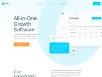 Gist website homepage 1x
